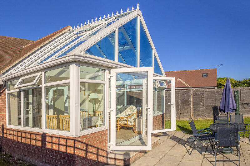 Glass Conservatory in Lincoln Lincolnshire